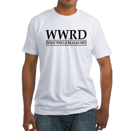 WWRD-White Fitted T-Shirt