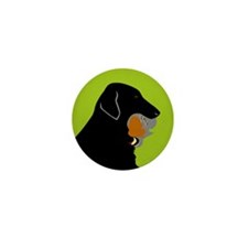 Flat-coated Retriever Button (Pack of 10)