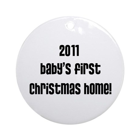 It's a Preemie Thing Ornament (Round)