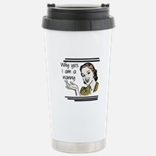 Retro Nanny Travel Mug
