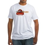 Rhino's Life Occupy Fitted T-Shirt