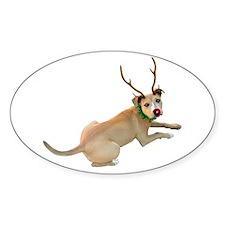 Reindeer Dog Decal