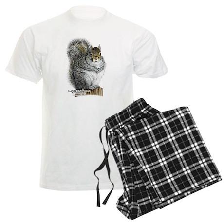 Eastern Gray Squirrel Men's Light Pajamas