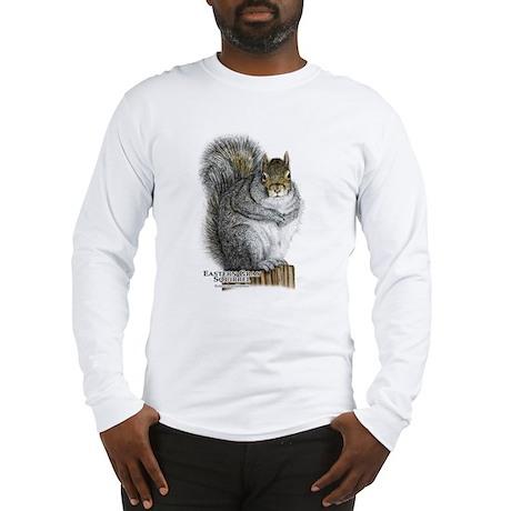 Eastern Gray Squirrel Long Sleeve T-Shirt