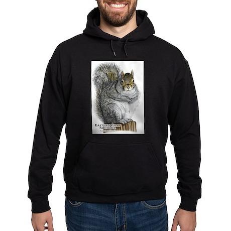 Eastern Gray Squirrel Hoodie (dark)