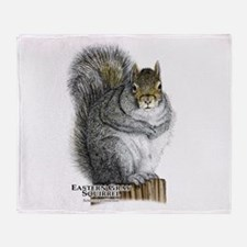 Eastern Gray Squirrel Throw Blanket
