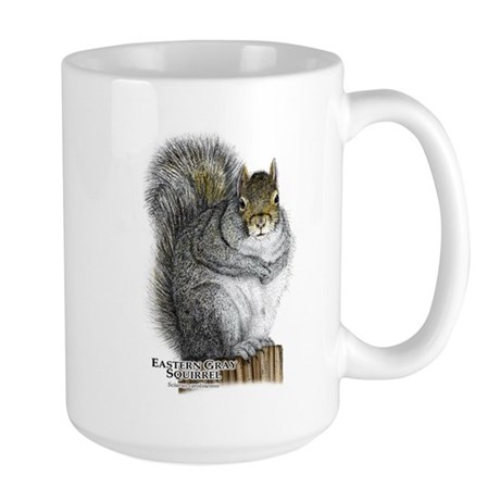 Eastern Gray Squirrel Large Mug