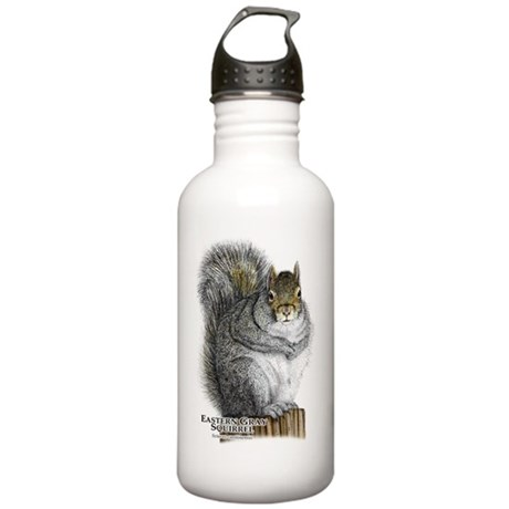 Eastern Gray Squirrel Stainless Water Bottle 1.0L