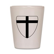 Teutonic Knights Coat of Arms Shot Glass