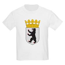 Berlin Coat Of Arms Kids T-Shirt