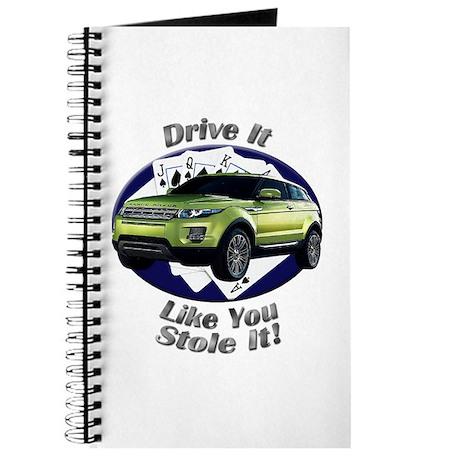 Range Rover Evoque Journal