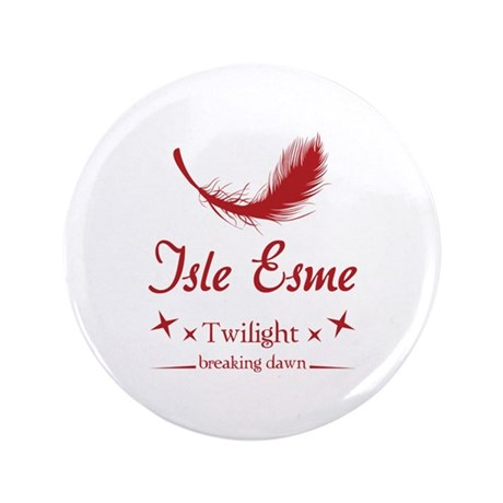 "Isle Esme 3.5"" Button"