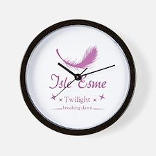 Isle Esme Wall Clock