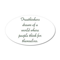 Freethought Quote Wall Decal