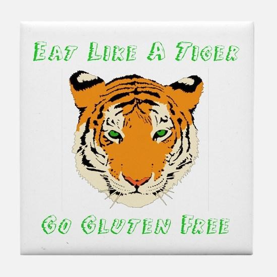 Gluten Free Tiger Tile Coaster