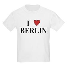 I Love Berlin Kids T-Shirt