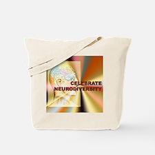 """Celebrate Neurodiversity""  Tote Bag"