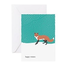 Snowy Fox Greeting Cards (Pk of 20)