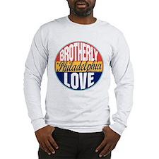 Philadelphia Vintage Label Long Sleeve T-Shirt