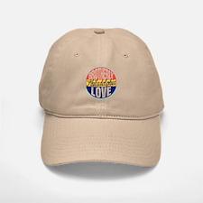 Philadelphia Vintage Label Baseball Baseball Cap