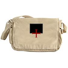 Knights Templar (black/white) Messenger Bag
