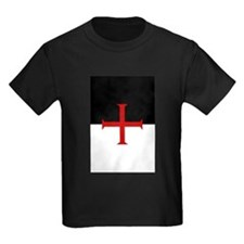 Knights Templar (black/white) T