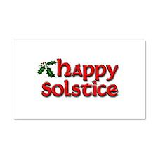 Happy Solstice Car Magnet 20 x 12