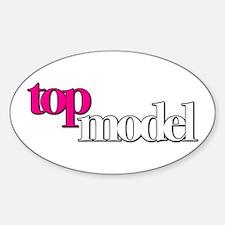 America's Next Top Model Sticker (Oval)