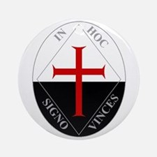 Knights Templar (Latin) Ornament (Round)