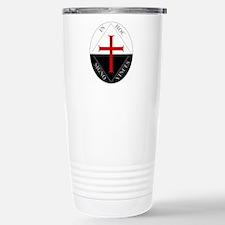 Knights Templar (Latin) Stainless Steel Travel Mug