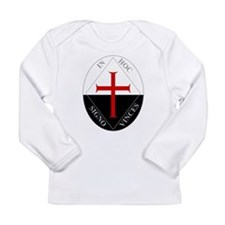 Knights Templar (Latin) Long Sleeve Infant T-Shirt