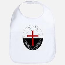 Knights Templar (Latin) Bib