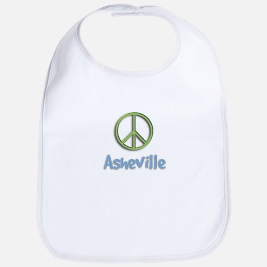 Peace Asheville Bib