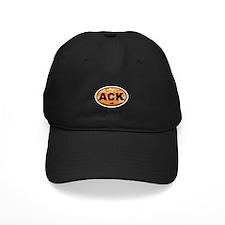 Nantucket MA - Oval Design Baseball Hat