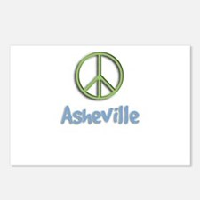 Peace Asheville Postcards (Package of 8)