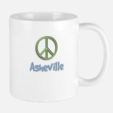 Peace Asheville Mug