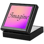 Imagine Pink Keepsake Box