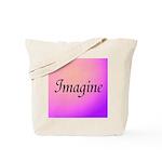 Imagine Pink Tote Bag