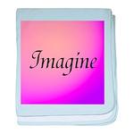 Imagine Pink baby blanket