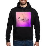 Imagine Pink Hoodie (dark)
