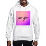Imagine Pink Hooded Sweatshirt