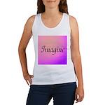 Imagine Pink Women's Tank Top