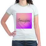 Imagine Pink Jr. Ringer T-Shirt