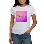 Imagine Pink Women's T-Shirt