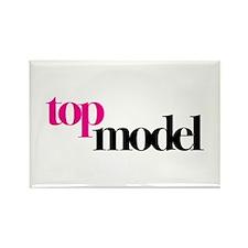 Top Model Rectangle Magnet
