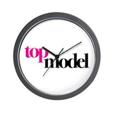 Top Model Wall Clock