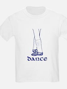 Irish Dance Ghillies Kids T-Shirt