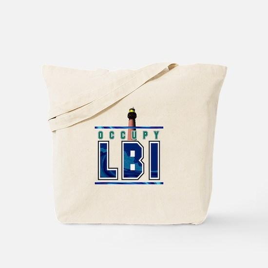OccupyLBI... Tote Bag