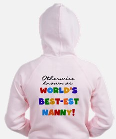 Otherwise Known Best Nanny Zip Hoodie