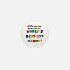 Otherwise Known Best Nanny Mini Button (10 pack)